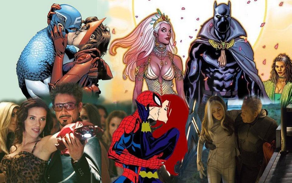 Những cặp tình nhân gây bất ngờ của Marvel: Toàn các tên tuổi khiến thiên hạ 'ngã ngửa' khi phải lòng nhau