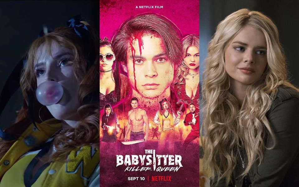 Bella Thorne trở lại trong 'Babysitter: Killer Queen' hứa hẹn phần 2 đẫm máu trên Netflix