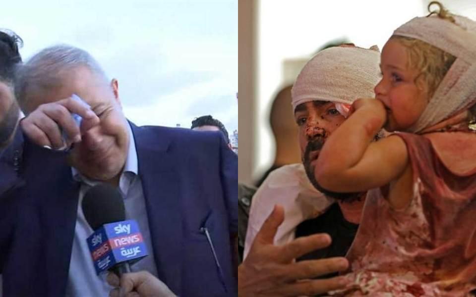 Thống đốc Beirut bật khóc khi phỏng vấn sau vụ nổ được xem là thảm họa lớn nhất thập kỷ của Lebanon