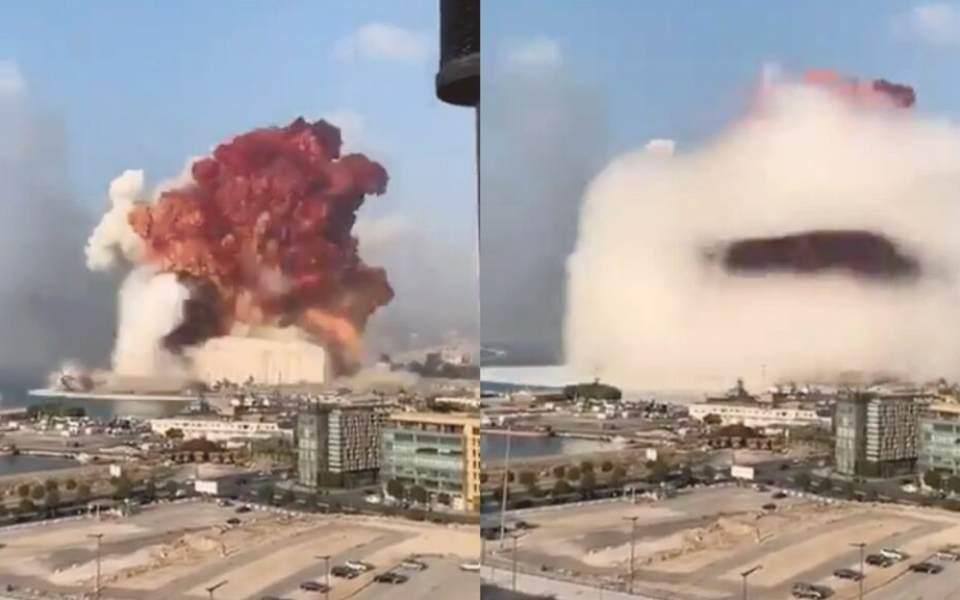 CLIP: 15 góc quay cận cảnh cho thấy sức tàn phá của vụ nổ ở Beirut, thậm chí chính người quay cũng mất tích