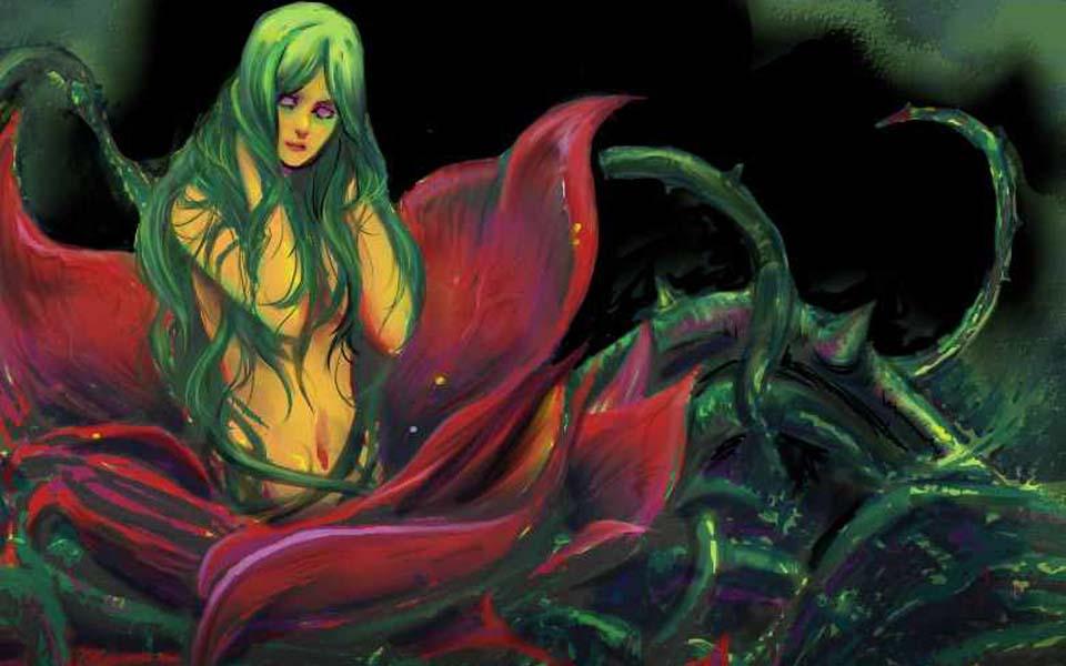 Alraune - Yêu nữ hoa quyến rũ con người vào địa ngục ngọt ngào