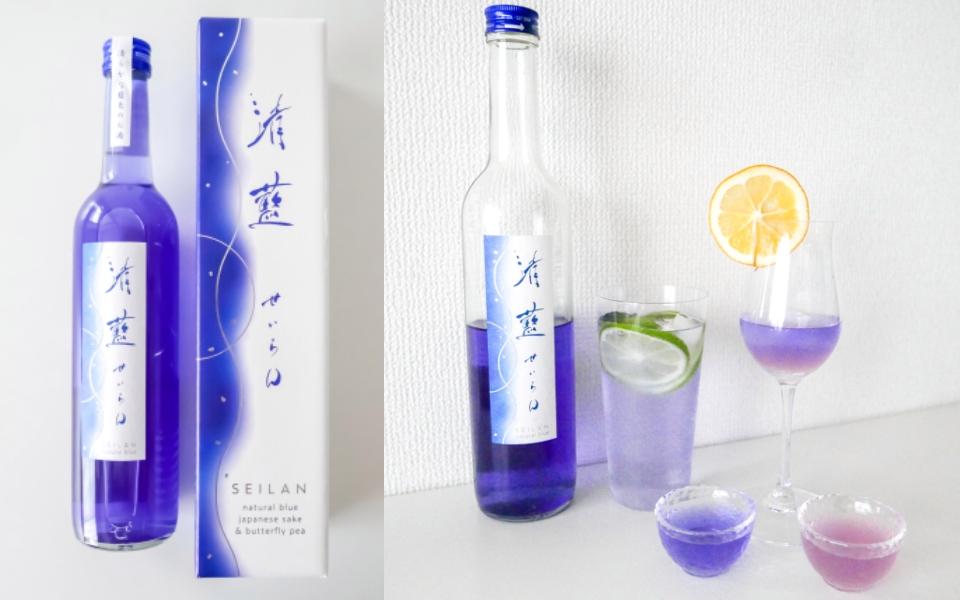 Rượu sake nổi tiếng vì vẻ đẹp tưởng chỉ có trong anime, còn có thể đổi màu cực ảo diệu