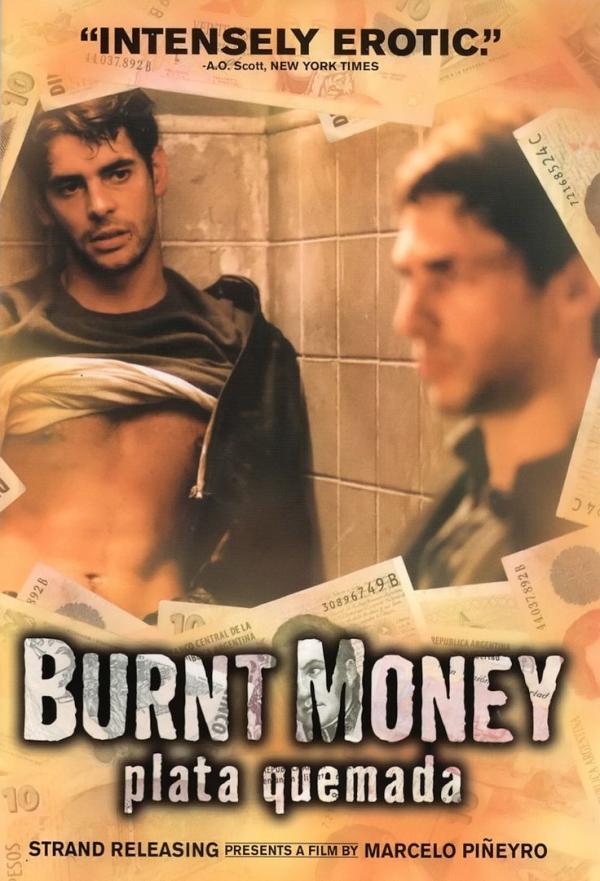 burnt money poster