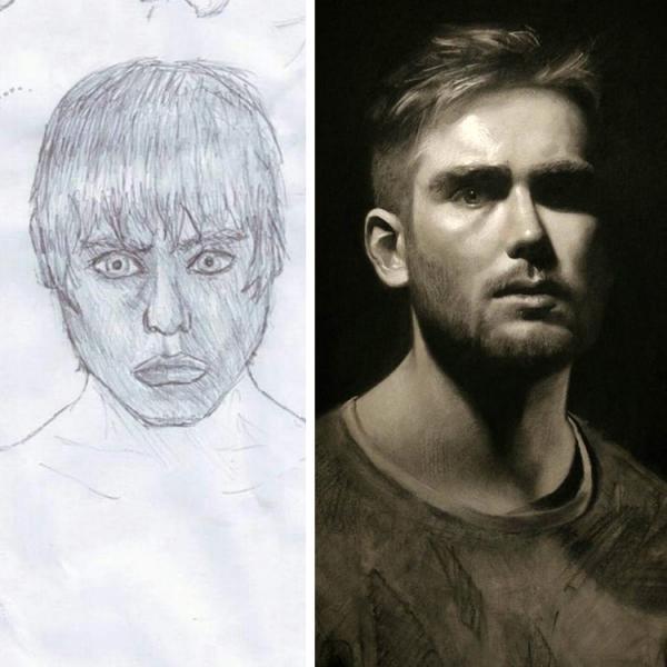 Thử thách 'Vẽ Lại Đi' đã chứng minh chân lý: Không gì là không thể với thời gian!