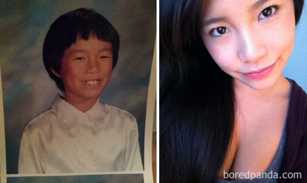 before after ugly duckling beauty transformation 9
