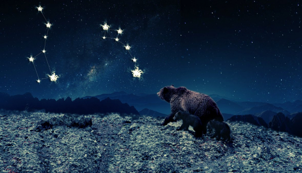 ursa major and ursa minor by u2becky dbe1aed