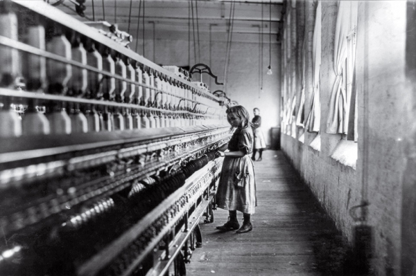 time 100 influential photos lewis hine girl worker carolina cotton mill 13