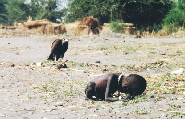 time 100 influential photos kevin carter starving child vulture 87