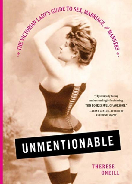 unmentionable book cover