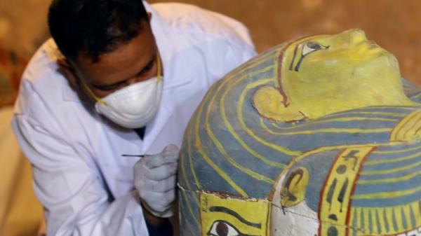 Xác ướp người phụ nữ trong quan tài vẫn vẹn nguyên hoàn hảo sau 3000 năm
