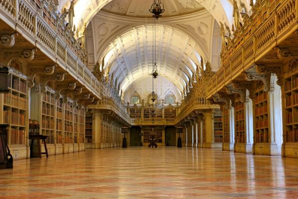 biblioteca do palacio nacional de mafra copy