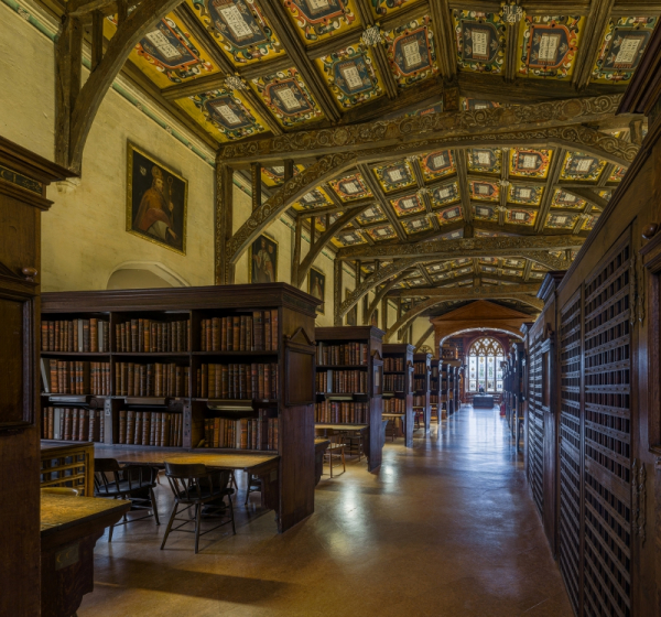 duke humfreys library interior 1 bodleian library oxford uk diliff