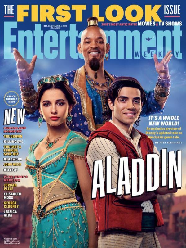 'Aladdin' 2019: Khi phản diện gợi cảm và đẹp trai gấp chục lần nam chính, khán giả biết theo phe ai?