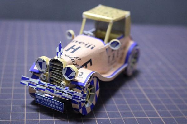Cao thủ cắt giấy Nhật Bản biến vỏ hộp bánh kẹo thành các mô hình nghệ thuật đáng kinh ngạc