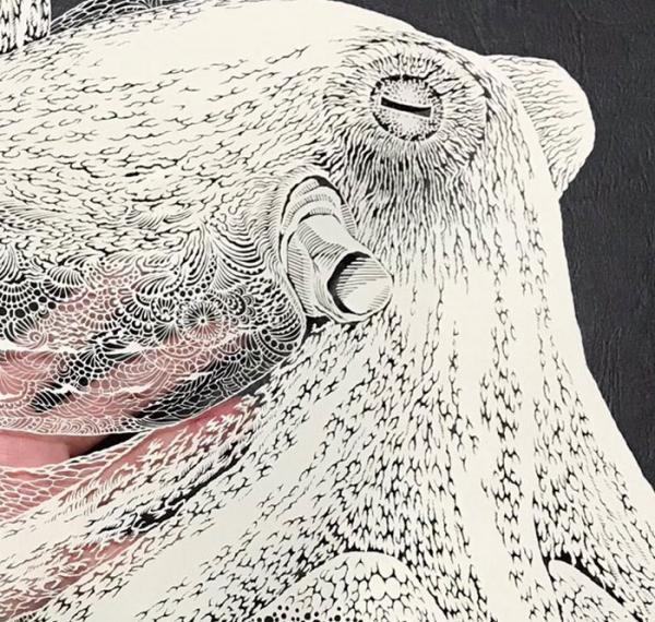Nghệ nhân cắt giấy kirie và tác phẩm Bạch Tuộc tâm đắc nhất trong 25 năm sự nghiệp