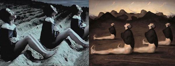 Những cảnh phim tuyệt mỹ được lấy cảm hứng từ các kiệt tác nghệ thuật