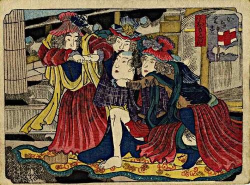 igirisu shunga probably by kuniyoshi