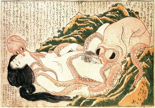 tako to ama by hokusai