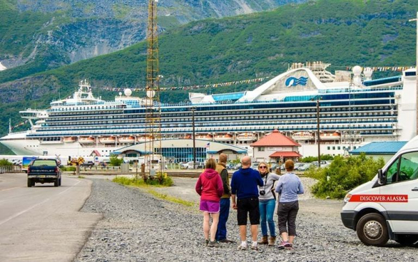 every year 700 000 tourists flood whittier to get a taste of alaskan life but theres only so much to see and do in the small town and most vacationers are back on their cruise ships by the