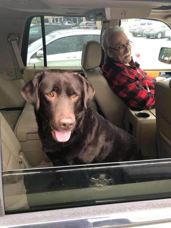 Anh chàng đứng cả tuần bên vệ đường chỉ để tìm lại chủ cho cô chó bị lạc