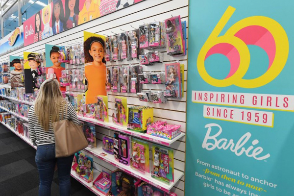 bup be barbie 12