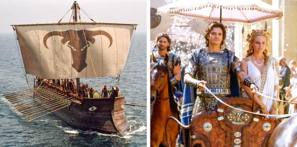 Nhặt nhạnh chi tiết sai lầm trong 10 bộ phim tái hiện lịch sử kinh điển