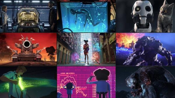 Love, Death & Robot - Bộ phim trần trụi và bác học, chỉ dành cho thực khách người lớn của Netflix