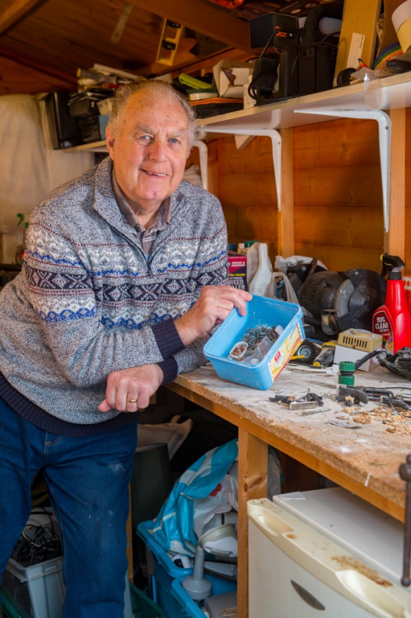 mouse tidying garden shed night pensioner discovered stephen mckears 1 5c91f52aa27b9 700