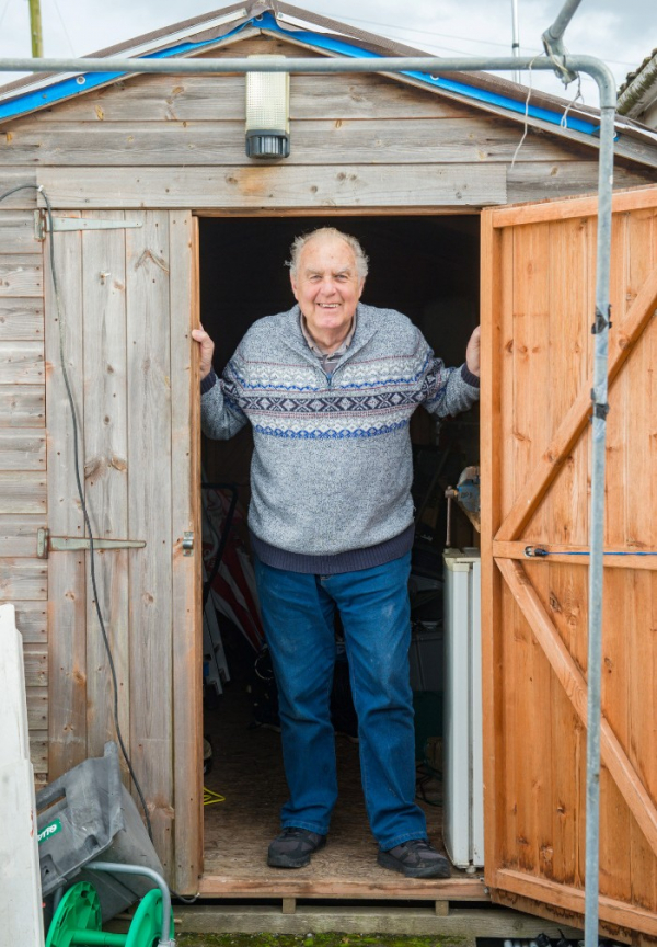 mouse tidying garden shed night pensioner discovered stephen mckears 2 5c91f52cba4e2 700