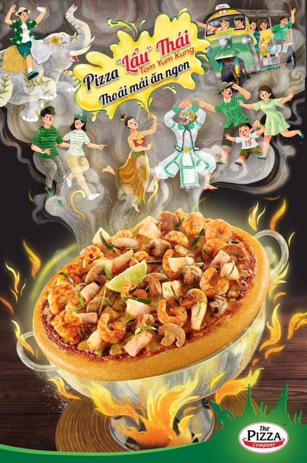 Thử thách ăn uống cho người dũng cảm: Kem chanh ớt, pizza bún đậu...
