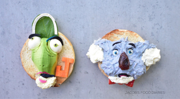 Loạt món ăn đẹp mắt được lấy cảm hứng từ những bộ phim hoạt hình nổi tiếng