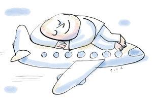 sleeping plane 300