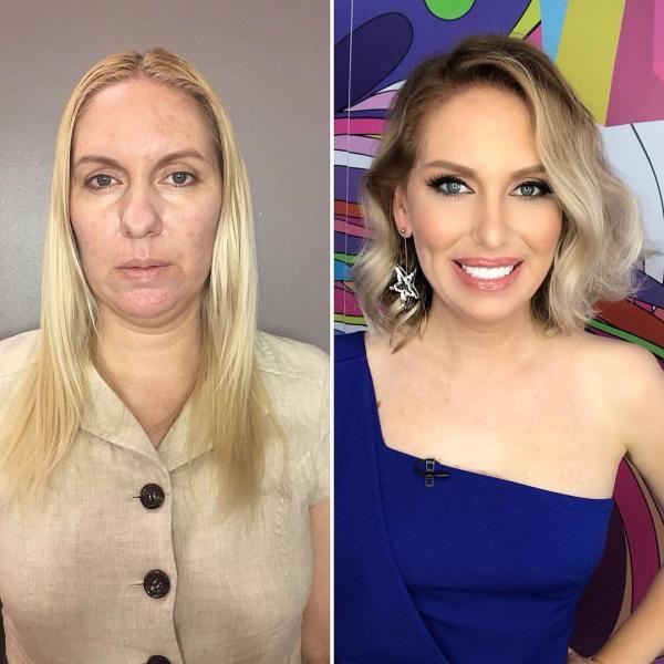 Nga khởi động dự án 'makeover' cho phụ nữ và đây là 20 pha vịt hóa thiên nga nhờ makeup khó tin nhất
