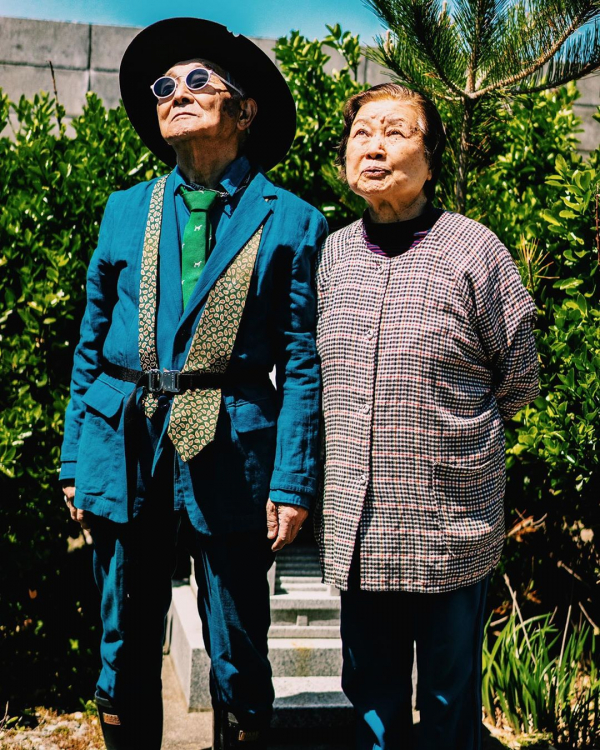 Cụ ông 84 tuổi người Nhật và gu thời trang 'chất lừ', trai tráng dù chạy dài cũng còn lâu mới theo kịp