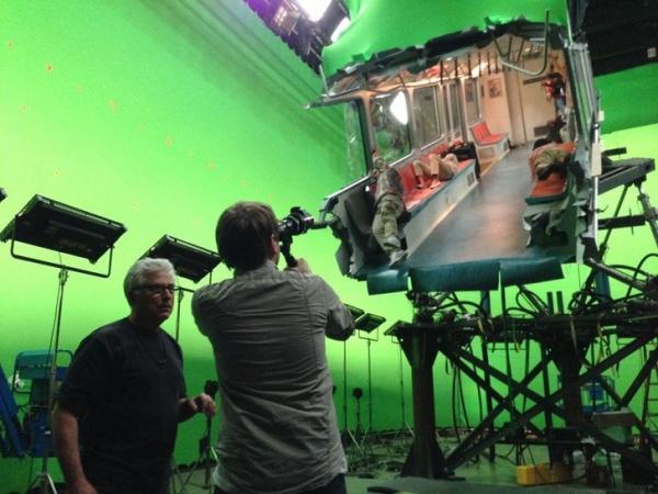 Những cảnh phim hậu trường cho thấy mức độ 'vi diệu' trong kỹ xảo của Hollywood