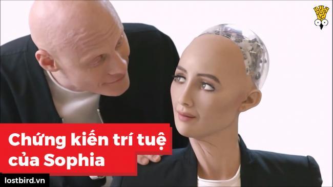 Trò chuyện cùng Sophia - Robot đầu tiên trên thế giới được cấp quyền công dân