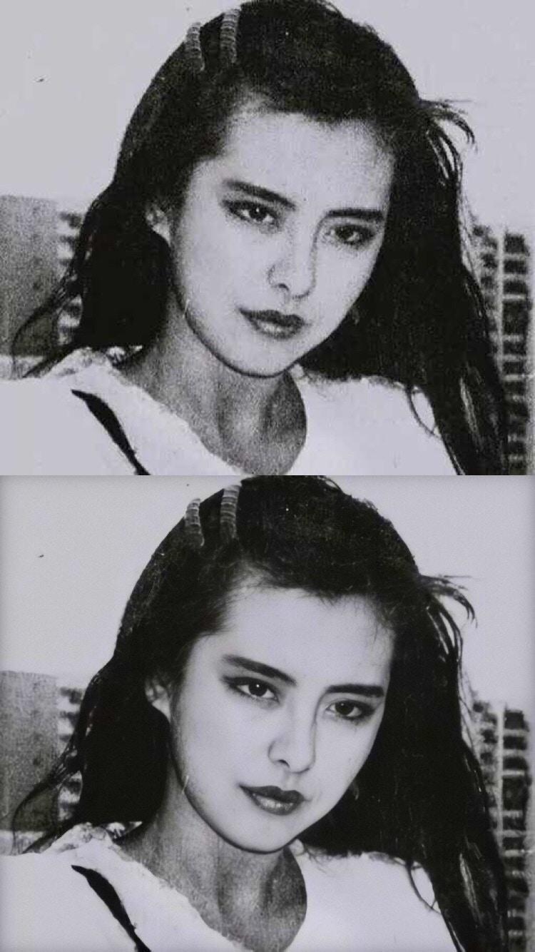 Một bức ảnh cũ được phục chế lại của Vương Tổ Hiền và Trương Quốc Vinh