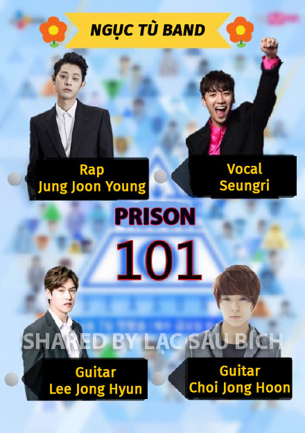 Từ scandal của dàn idol K-Pop, netizen chế ảnh và ca khúc chủ đề 'Produce 101' thành  'Prison 101'