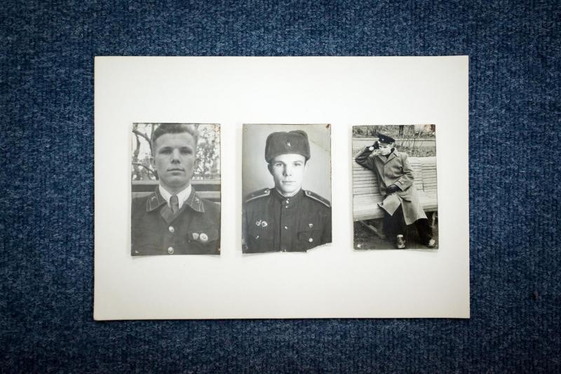 Hình ảnh thời trẻ của Yuri Gagarin được cất giữ tại trường phổ thông mà ông từng theo học.