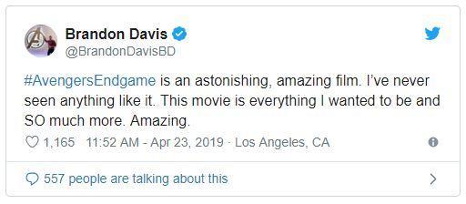 Cấp báo: 'Cơn bão' phản hồi đầu tiên bắt đầu đổ bộ sau buổi công chiếu 'Avengers: Endgame'