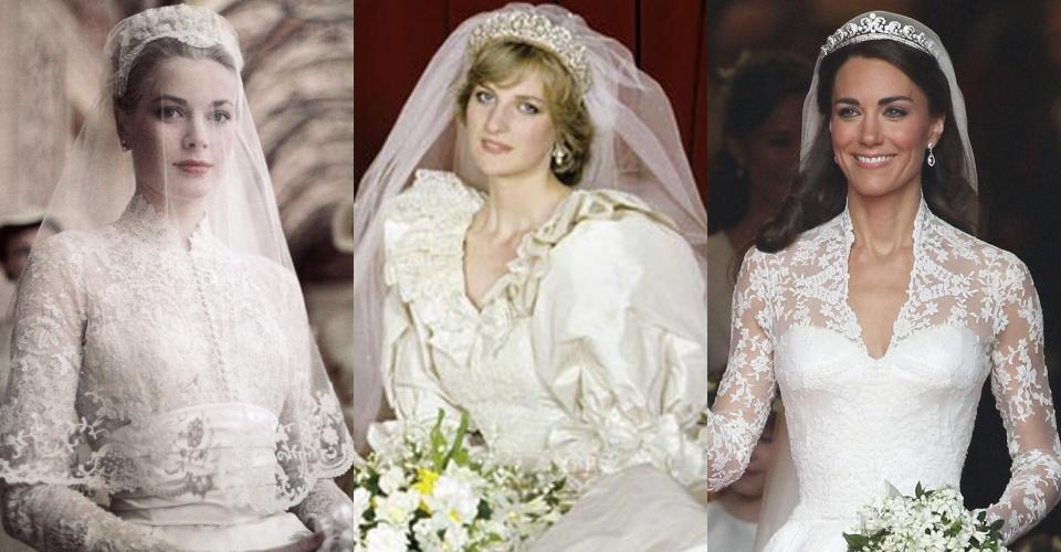 10 mẫu váy cưới lộng lẫy nổi tiếng trong lịch sử Hoàng gia thế giới