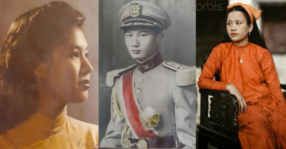Ngược dòng thời gian ngắm nhan sắc và khí chất của hoàng tộc Việt Nam xưa