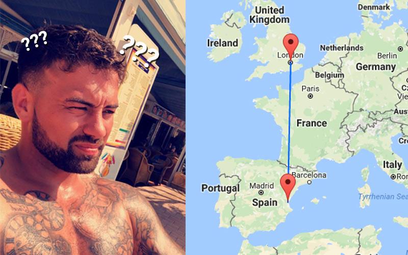 Sau một đêm say quên trời đất, hai thanh niên hốt hoảng thấy mình 'lạc trôi' từ Anh sang tận Tây Ban Nha