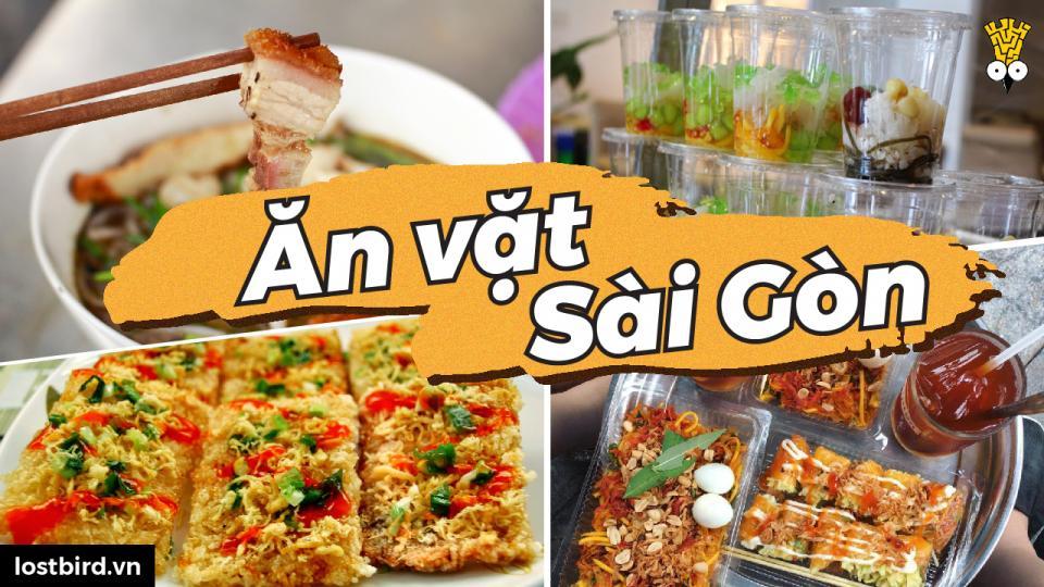 1002 món ăn vặt ở Sài Gòn