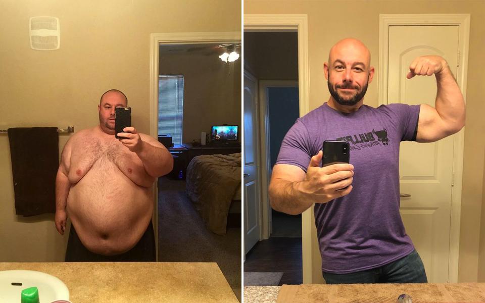 Ông chồng nỗ lực giảm 102 kg sau khi bị vợ bỏ vì chê quá béo để làm 'chuyện ấy'