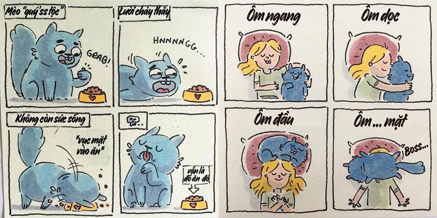Truyện tranh dễ thương 'Kiếp làm sen' khiến các sen đồng cảm ngay lập tức