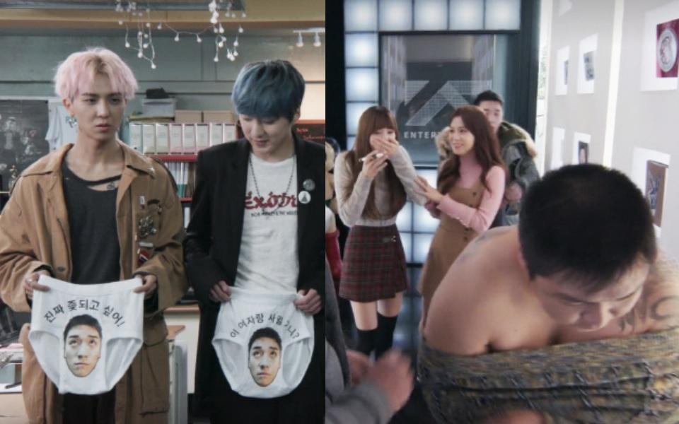 Vừa lên sóng, phim sitcom của YG đã bị phản ứng dữ dội vì những cảnh khoe da thịt và quấy rối tình dục