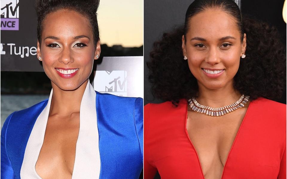 Loạt ảnh sự kiện của 'Nữ hoàng mặt mộc' Alicia Keys minh chứng cho câu 'không cần trang điểm cầu kì vẫn đẹp rạng ngời'