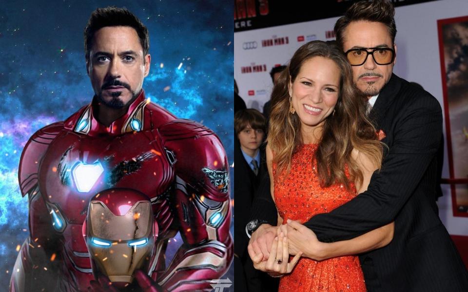 'Một nửa đích thực' của nhóm Avengers ngoài đời là ai?