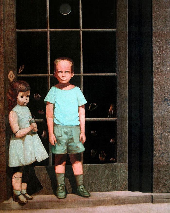 Những bức tranh 'ma ám' khiến chủ nhân và khán giả sợ hãi